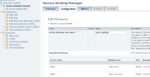 Binding Manager in the Admin Console