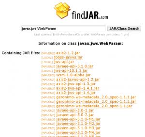 findJAR wyniki dla WebParam