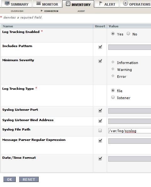 RHQ Server - dodanie pliku loga do monitorowania
