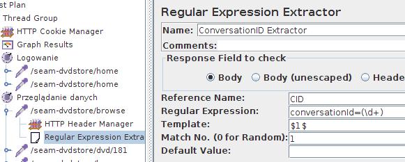 JMeter - ConversationID Extractor