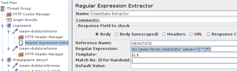 JMeter - ViewState Extractor