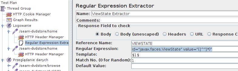 JMeter - ViewState Extractor